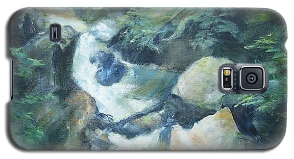 Mountain Stream Galaxy S5 Case by Mary Lynne Powers