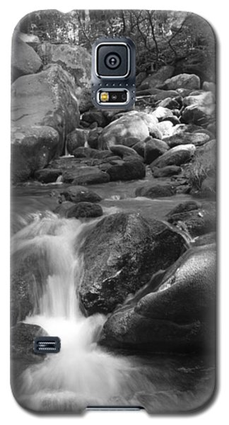 Mountain Stream Monochrome Galaxy S5 Case