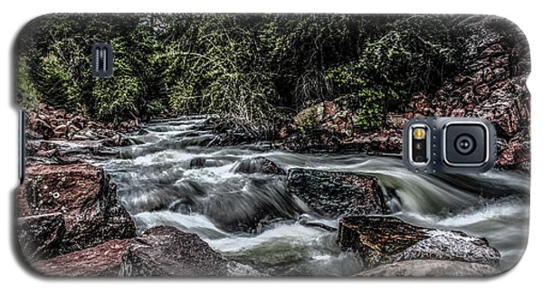Mountain Stream Galaxy S5 Case by Ray Congrove