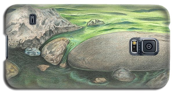 Mountain Stream Galaxy S5 Case by Troy Levesque