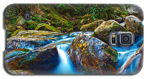 Galaxy S5 Case featuring the photograph Mountain Streams by Alex Grichenko