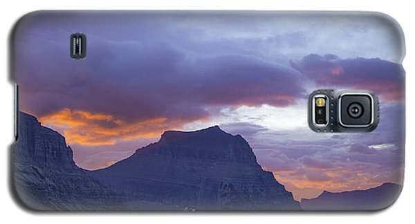 Sunrise Over Going To The Sun Mountain Galaxy S5 Case