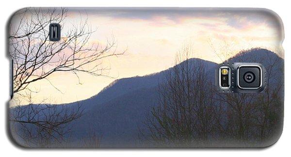 Galaxy S5 Case featuring the photograph Mountain Sunset Eight by Paula Tohline Calhoun