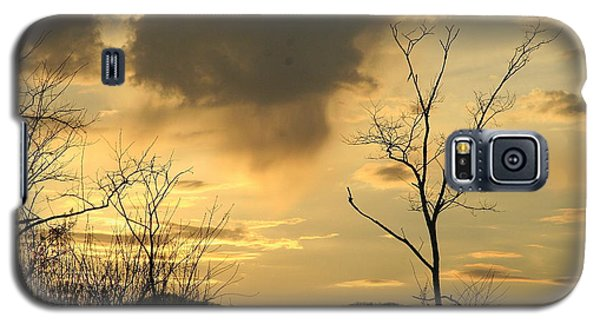 Galaxy S5 Case featuring the photograph Mountain Sunset Three by Paula Tohline Calhoun