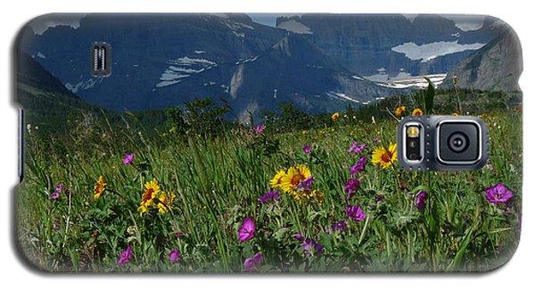 Mountain Wildflowers Galaxy S5 Case by Alan Socolik
