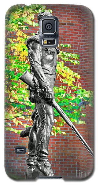 Mountaineer Statue Galaxy S5 Case