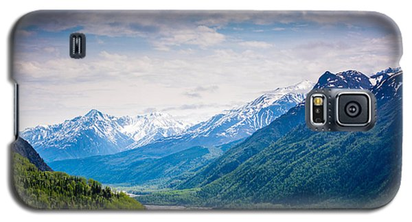 Mountains Along Seward Highway Galaxy S5 Case by Andrew Matwijec