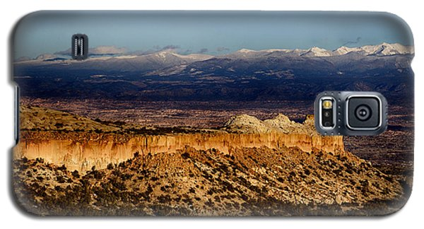 Mountains At Senator Clinton P. Anderson Scenic Route Overlook  Galaxy S5 Case