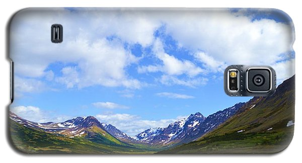 Mountains In Anchorage Alaska Galaxy S5 Case
