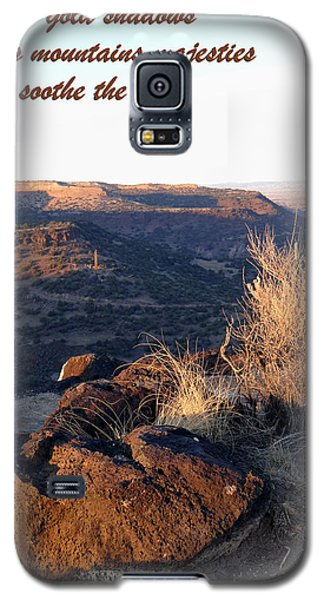 Galaxy S5 Case featuring the photograph Mountains Majesties by Tom DiFrancesca