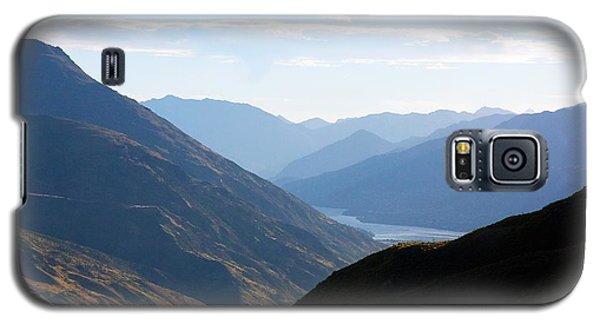Mountains Meet Lake #3 Galaxy S5 Case by Stuart Litoff