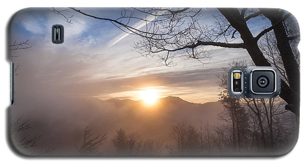 Mountaintop Sunrise Galaxy S5 Case