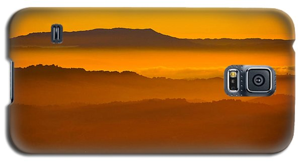 Mountaintop Sunset Galaxy S5 Case