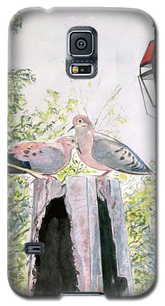 Mourning Doves Galaxy S5 Case by Carol Flagg