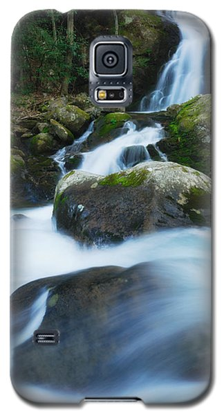 Galaxy S5 Case featuring the photograph Mouse Creek Falls In Colour by Photography  By Sai