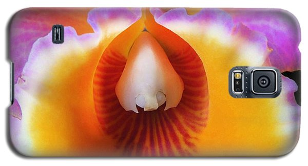 Mouth Of An Orchid Galaxy S5 Case by Kristine Merc