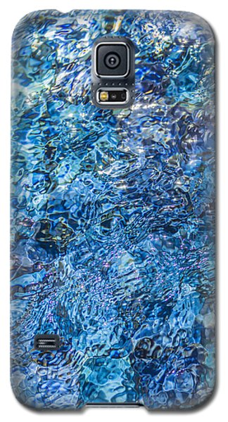 Moving Water 1 Galaxy S5 Case by Leigh Anne Meeks