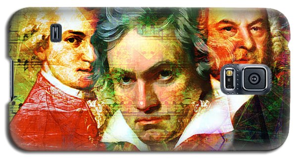 Mozart Beethoven Bach 20140128 Galaxy S5 Case