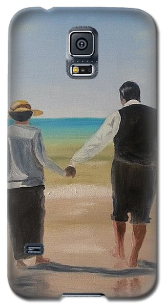 Mr. Carson And Mrs. Hughes Galaxy S5 Case