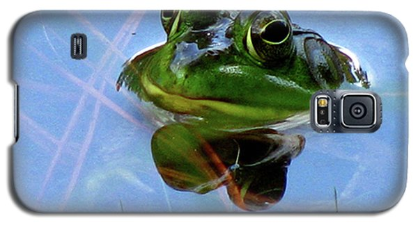 Galaxy S5 Case featuring the photograph Mr. Frog by Donna Brown
