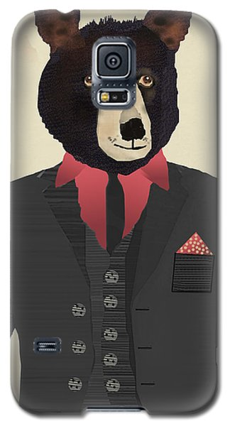 Mr Grizzly Bear Galaxy S5 Case