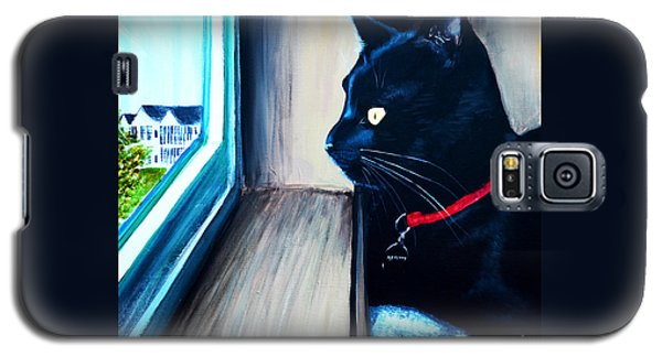 Mr Kitty Galaxy S5 Case by Patricia L Davidson
