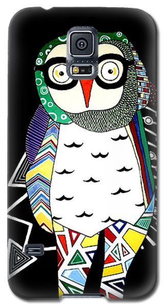 Mr. Owl Galaxy S5 Case by Amy Sorrell
