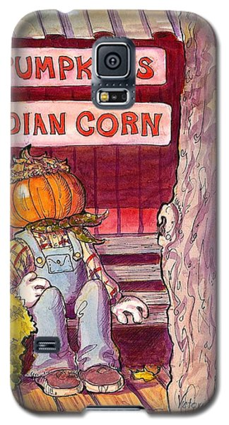 Mr. Pumpkin Galaxy S5 Case