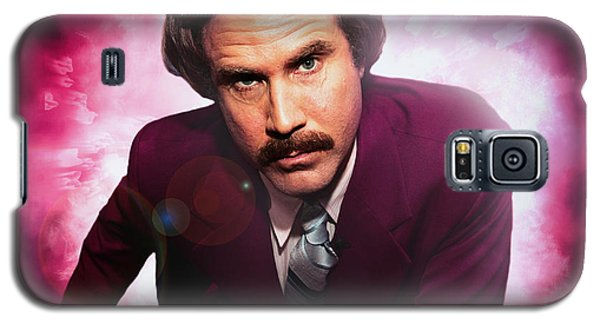 Mr. Ron Mr. Ron Burgundy From Anchorman Galaxy S5 Case