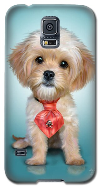 Mr. Toby Waffles The Cavapoo Galaxy S5 Case