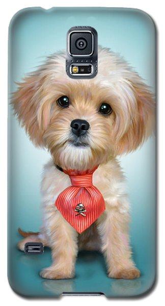 Mr. Toby Waffles The Cavapoo Galaxy S5 Case