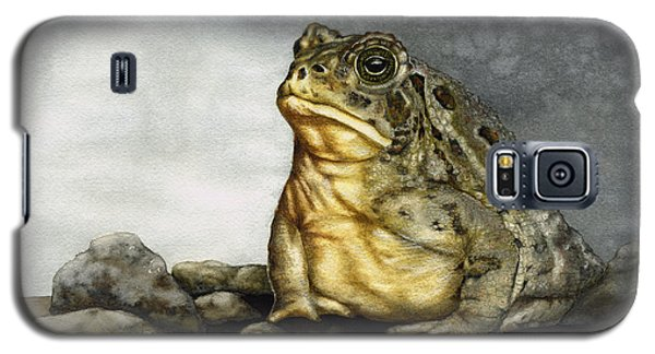 Mr. Woodhouse Toad Galaxy S5 Case by Nan Wright
