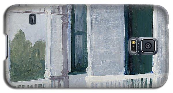 Mrs. Milner's Irises Galaxy S5 Case