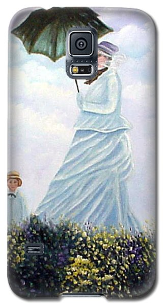 Mrs. Monet And Son Galaxy S5 Case