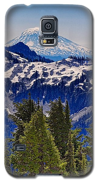 Galaxy S5 Case featuring the photograph Mt Adams by Ken Stanback