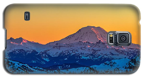 Mt Adams Sunset Review-2 Galaxy S5 Case