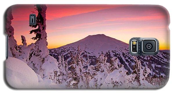 Mt. Bachelor Winter Twilight Galaxy S5 Case