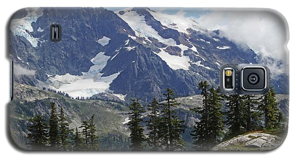 Mt Baker Washington View Galaxy S5 Case by Tom Janca