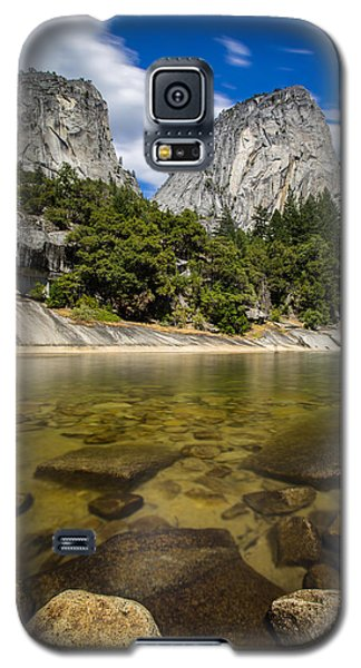 Galaxy S5 Case featuring the photograph Mt. Broderick And Liberty Cap by Mike Lee
