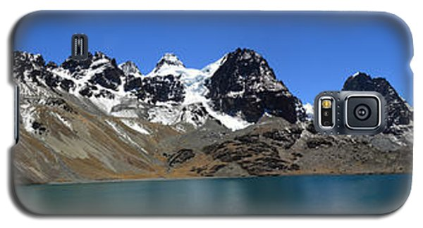 Mt Condoriri Panorama Galaxy S5 Case