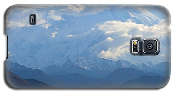 Galaxy S5 Case featuring the photograph Mt. Denali by Ann Lauwers