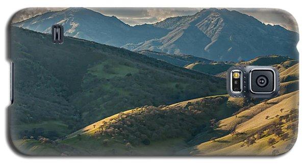 Mt Diablo And Afternoon Shadows Galaxy S5 Case by Marc Crumpler