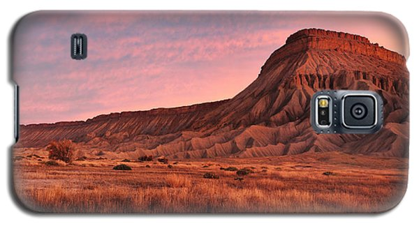 Galaxy S5 Case featuring the photograph Mt Garfield Sunrise by Ronda Kimbrow
