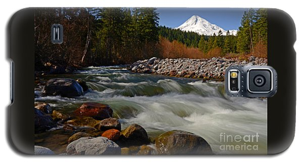 Mt. Hood Landscape Galaxy S5 Case by Nick  Boren