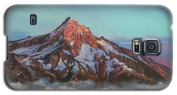 Mt Hood North Face Galaxy S5 Case by Jeanette French