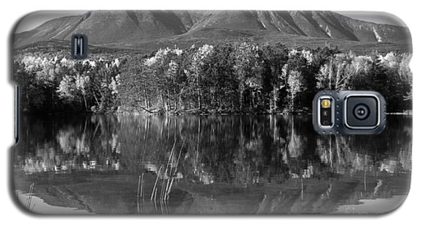 Mt Katahdin Black And White Galaxy S5 Case