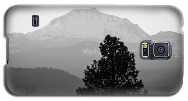 Mt. Lassen With Tree Galaxy S5 Case
