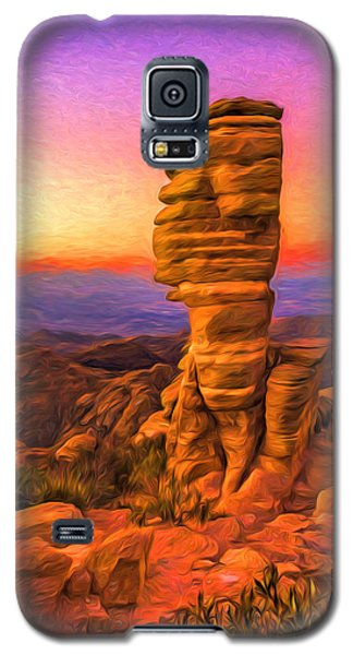 Mt. Lemmon Hoodoo Artistic Galaxy S5 Case