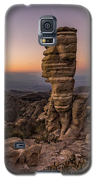 Mt. Lemmon Hoodoo Galaxy S5 Case