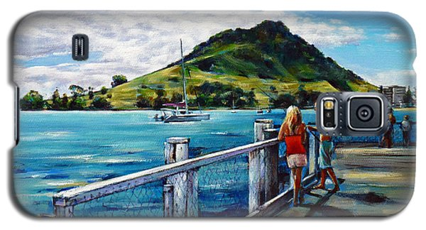 Mt Maunganui Pier 140114 Galaxy S5 Case